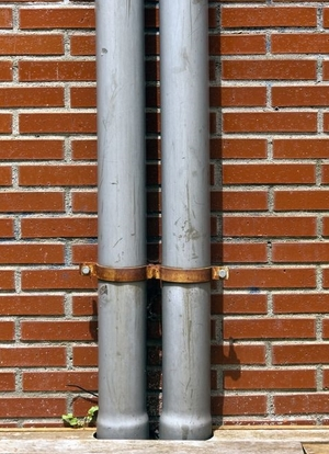 Vertical Roof Drain Pipe Lining From Advanced Pipe Repair